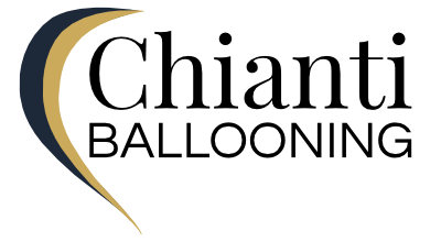 Chianti Ballooning in Tuscany Italy logo - New